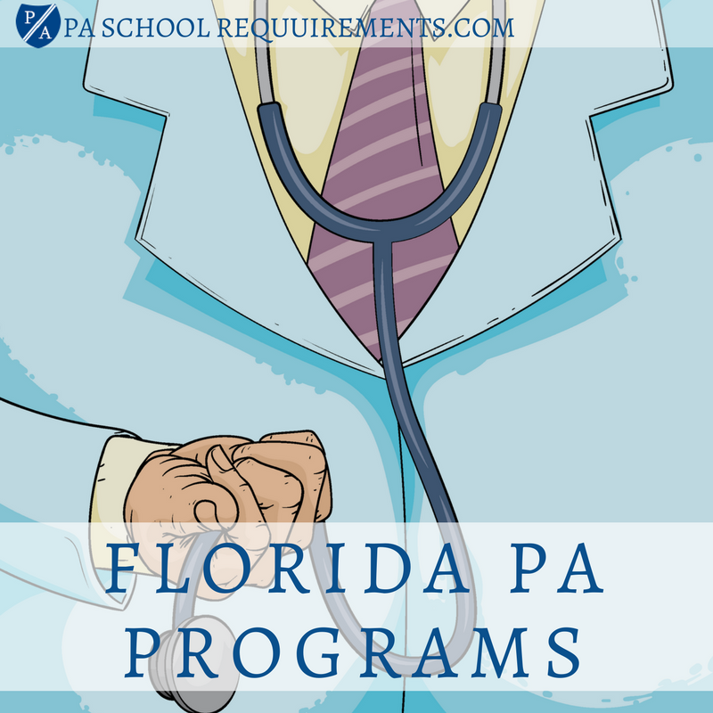 find the best pa school in florida